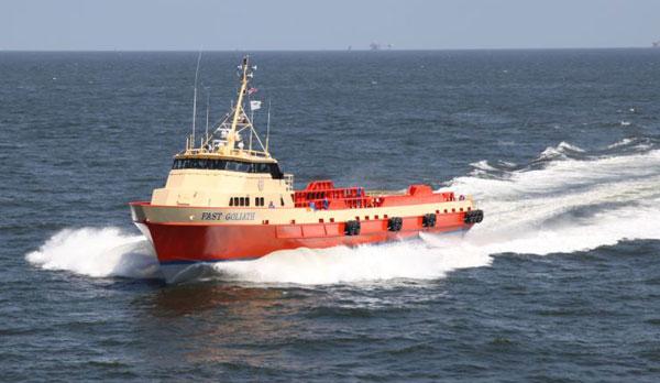 Fast Supply Vessel| FSV | Propulsion| Thrustmaster of Texas