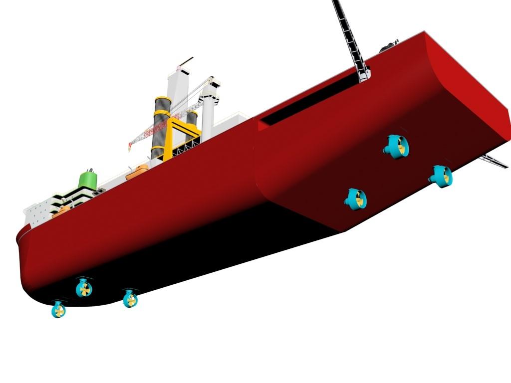 drillship-thrusters