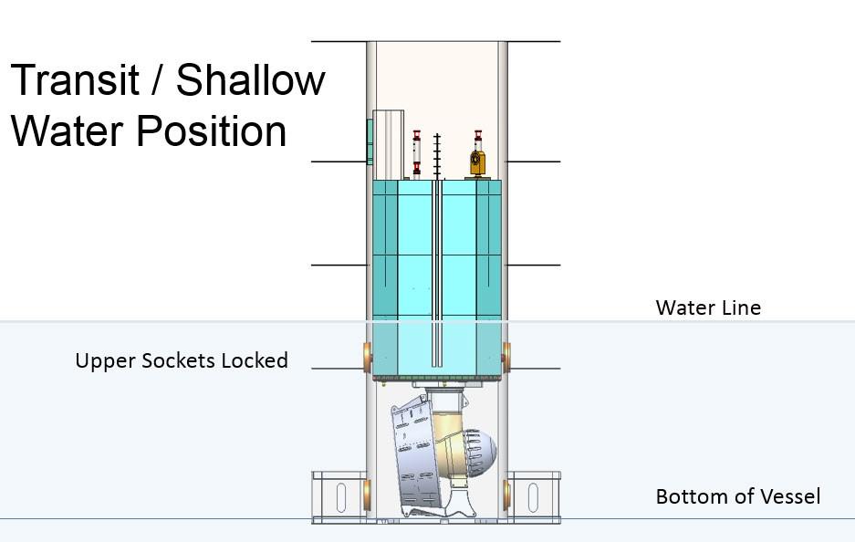 drillship-transit-shallow-water